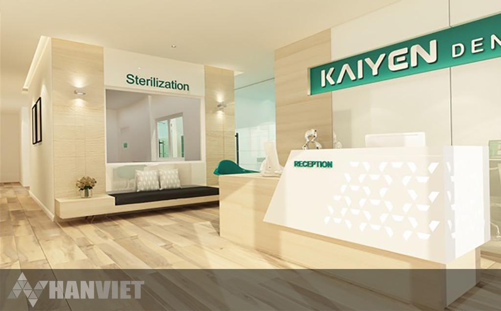 Kaiyen Dental Clinic Reception
