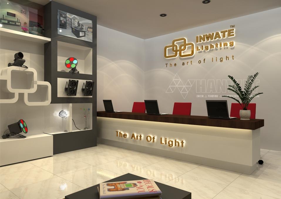 showroom đèn Led 1