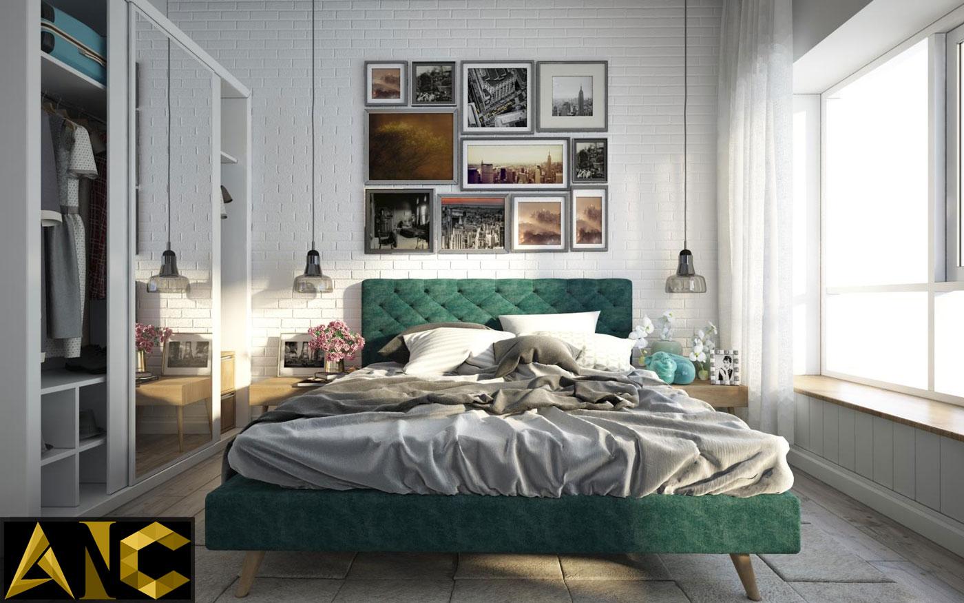 Thiết kế thi công nội thất: Happy Valley - phòng ngủ nhỏ đẹp