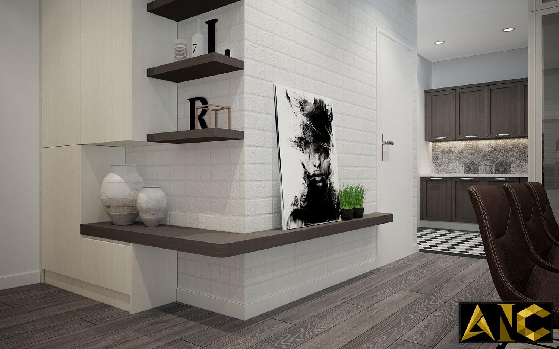 Thiết kế nội thất căn hộ Scenic Valley - Phòng khách view 5