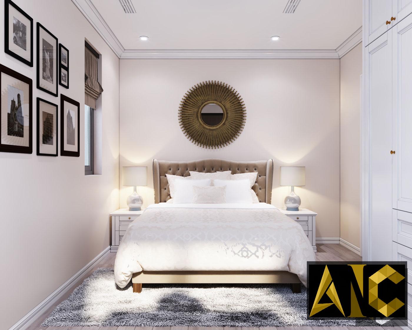 Thiết kế thi công biệt thự Nine South anh Mạnh - Phòng ngủ khách