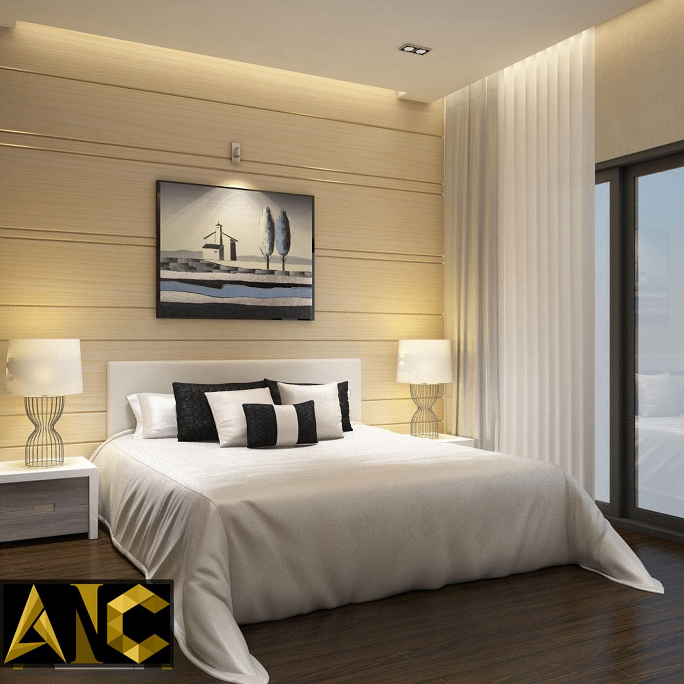 Cải tạo nhà phố Q7 - Phòng ngủ 2 view 2