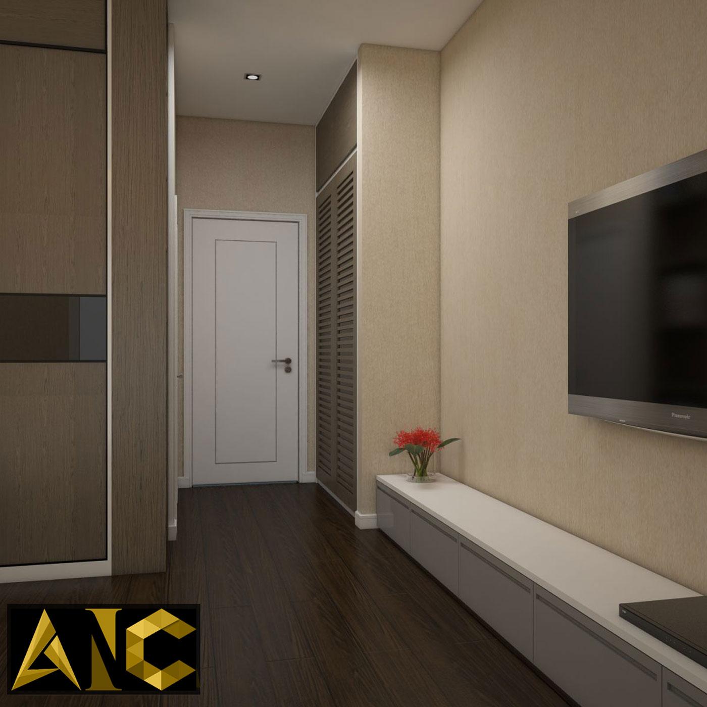 Cải tạo nhà phố Q7 - Phòng master view 2