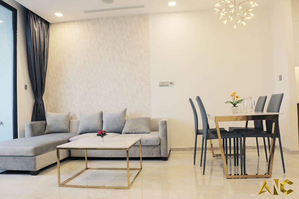 thiết kế nội thất căn hộ vinhome bason
