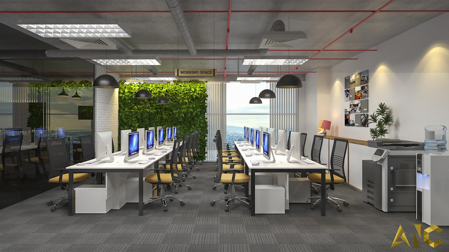 view-small-working-space