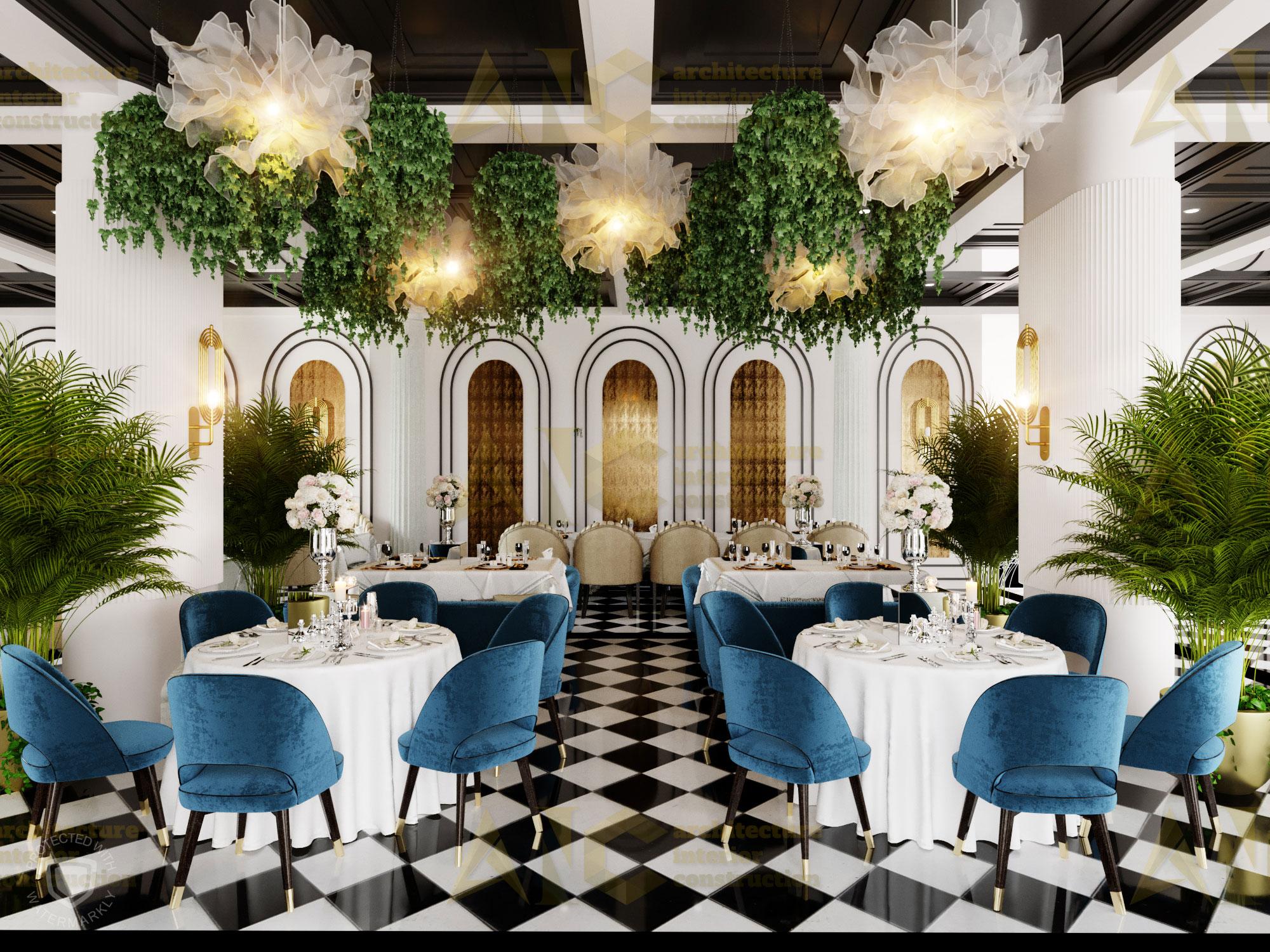 Thiết kế nội thất hầm rượu ban mê chị Vân- nhà hàng view 1