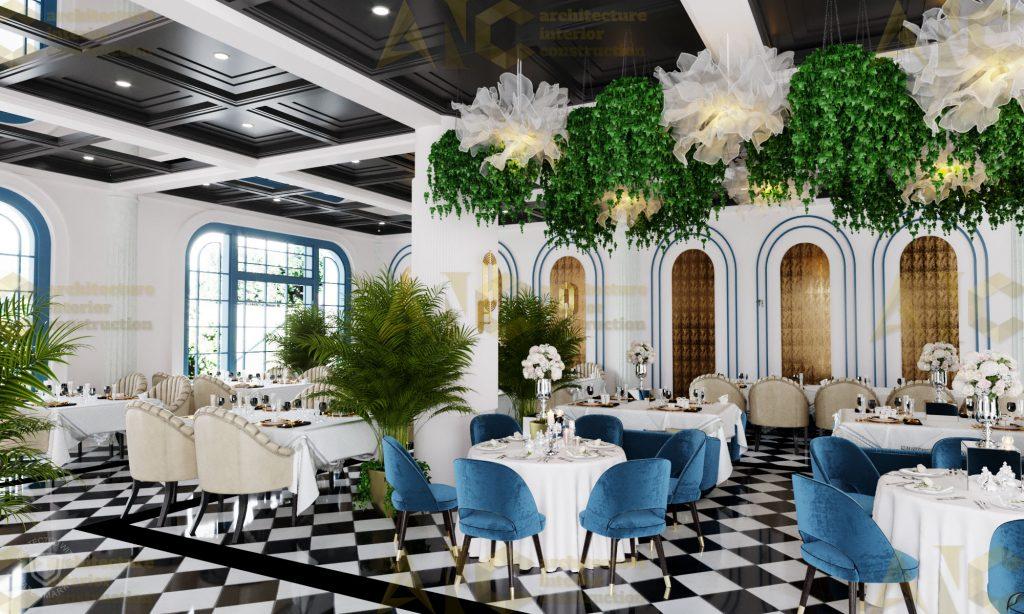 Thiết kế nội thất hầm rượu ban mê chị Vân- nhà hàng view 3