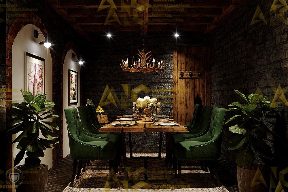 Thiết kế nội thất hầm rượu ban mê chị Vân- phòng Vip view 3.3
