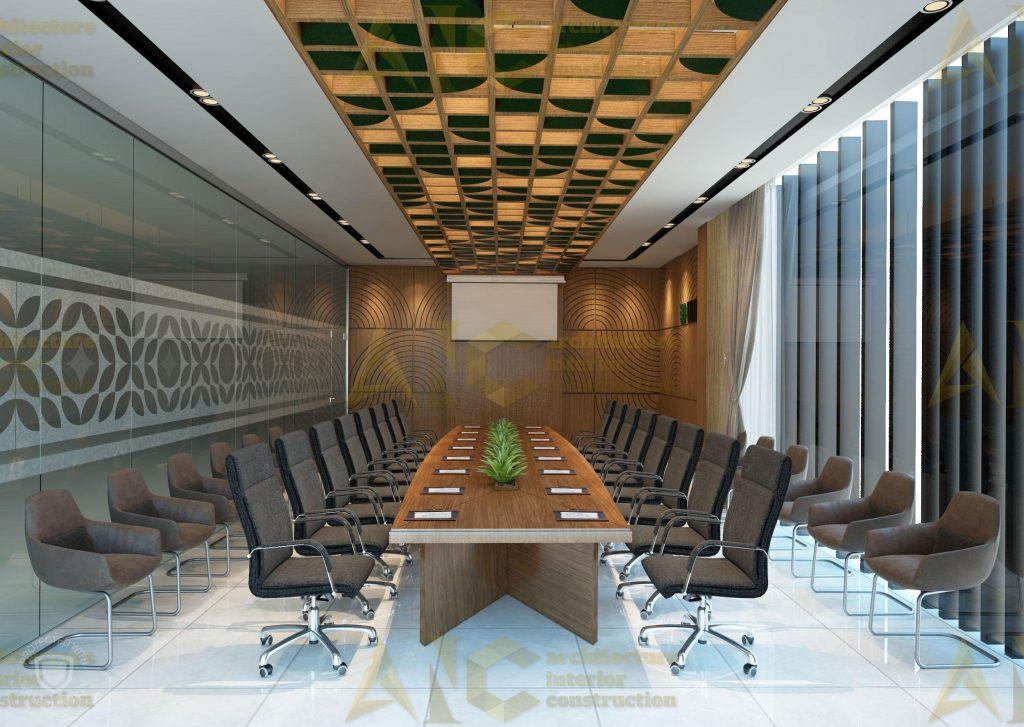 Thiết kế nội thất văn phòng SSC- phòng họp view 2