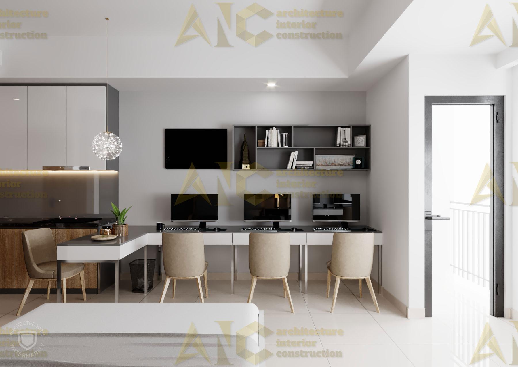 Thiết kế nội thất văn phòng SSC- view 5