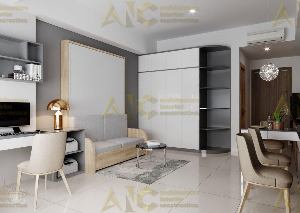 Thiết kế nội thất văn phòng SSC- view 6