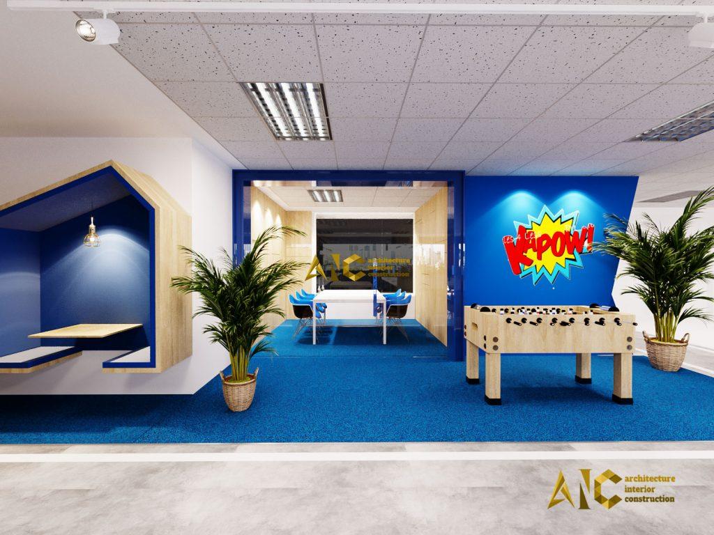 thiết kế nội thất văn phòng Realtek