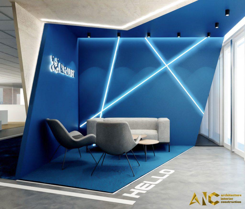 thiết kế nội thất văn phòng Realtek tại tòa nhà Etown
