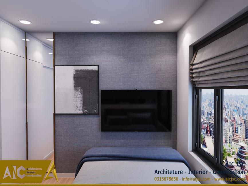 thiết kế và thi công nội thất nhà chị Uyên - quận 7 - giường