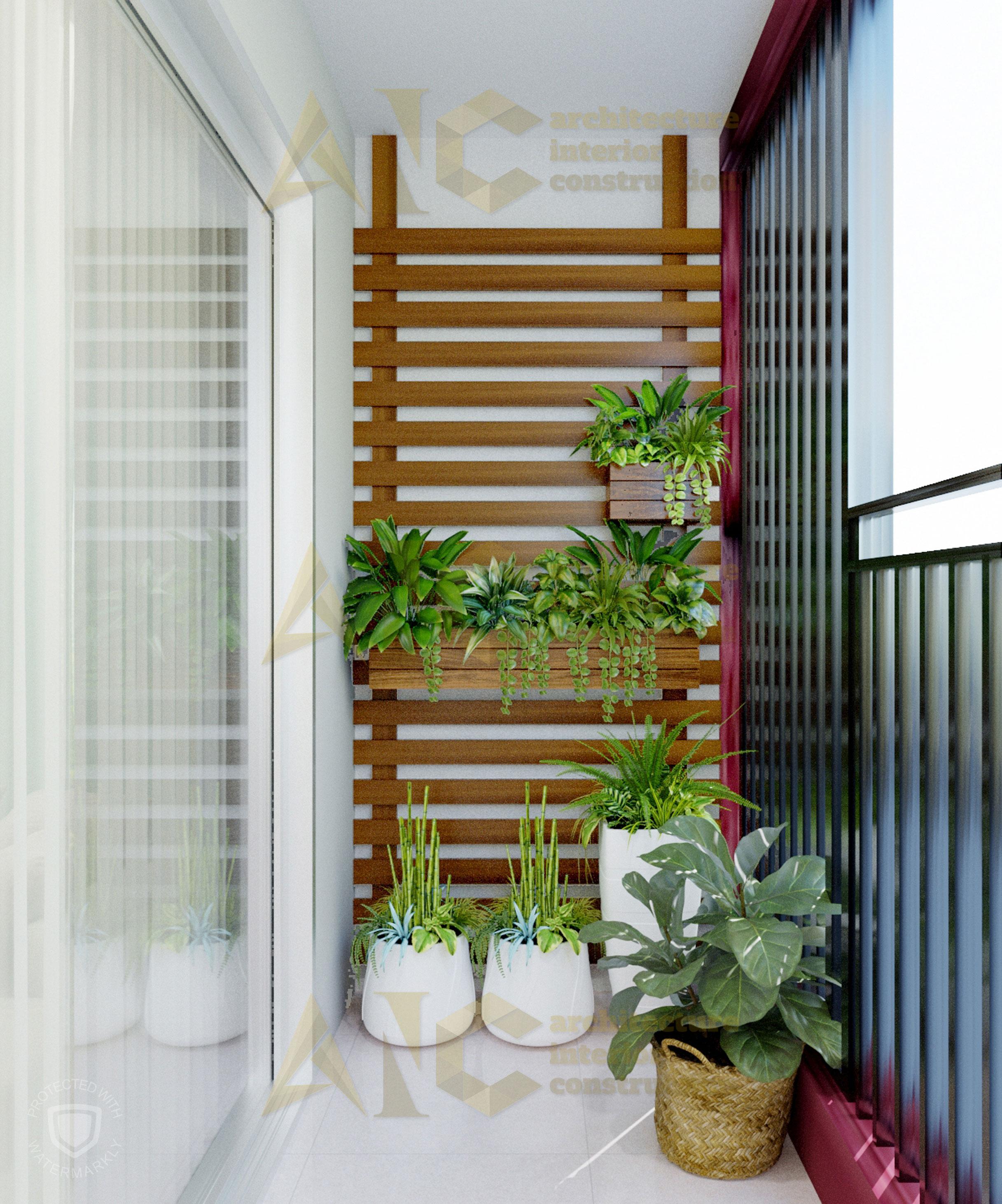 Thiết kế và thi công nội thất căn hộ chị Trúc- view 6