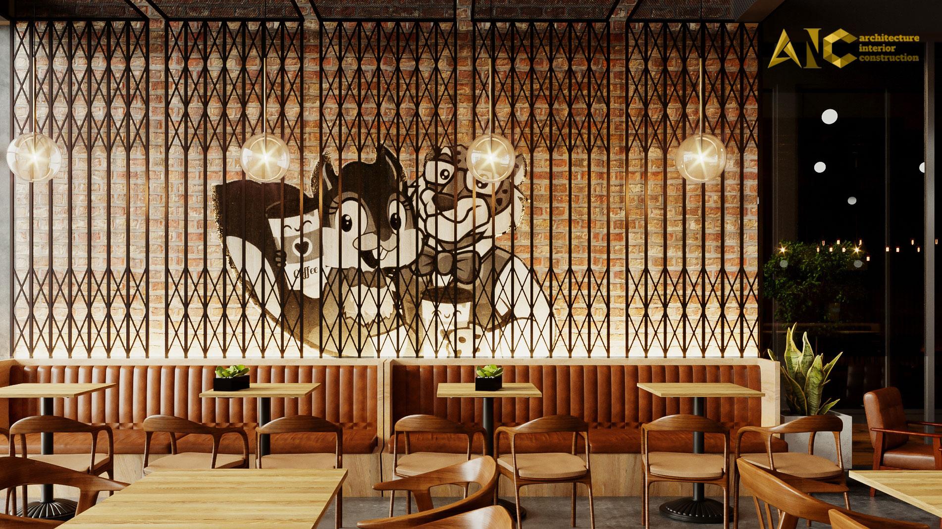 thiết kế và thi công khu cafe văn phòng Tantofaz- khu cafe văn phòng view 1