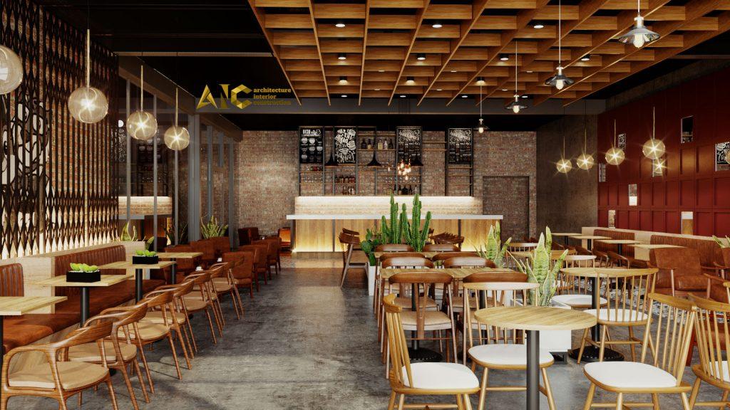 thiết kế và thi công khu cafe văn phòng Tantofaz- khu cafe văn phòng view 4