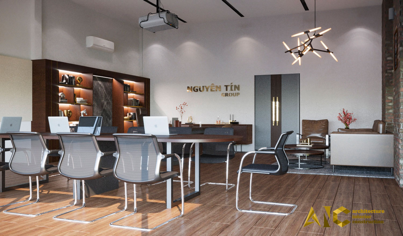 thiết kế và thi công khu cafe văn phòng Tantofaz- khu Shisha view 1