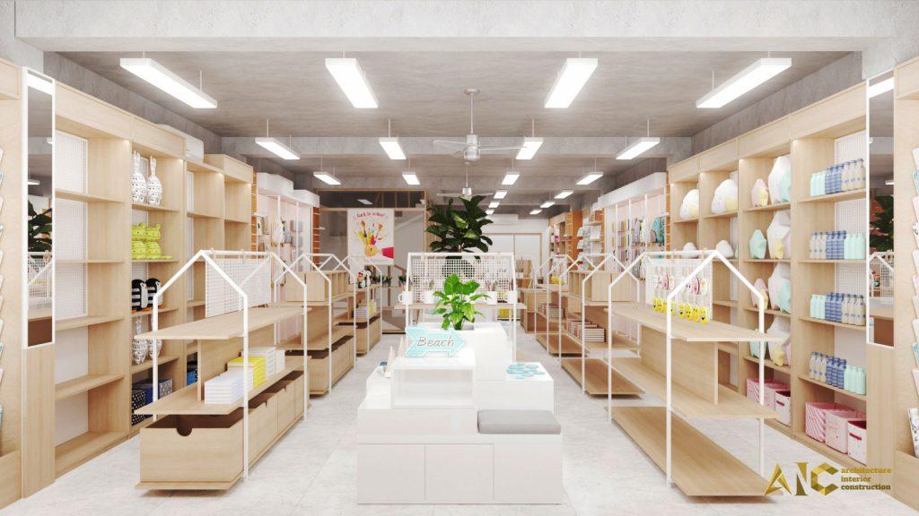 thiết kế thi công nội thất VPP Sao Mai Đông Hồ- view 1