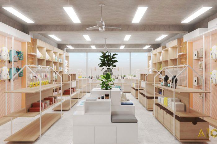 thiết kế thi công nội thất VPP Sao Mai Đông Hồ- view 4