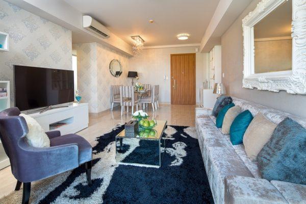 Thiết kế căn hộ - Phòng khách