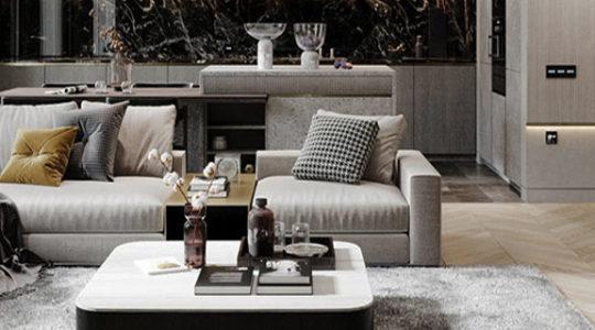 cover - 2 - Phong Cách Hiện Đại -modern living room - AIC JSC