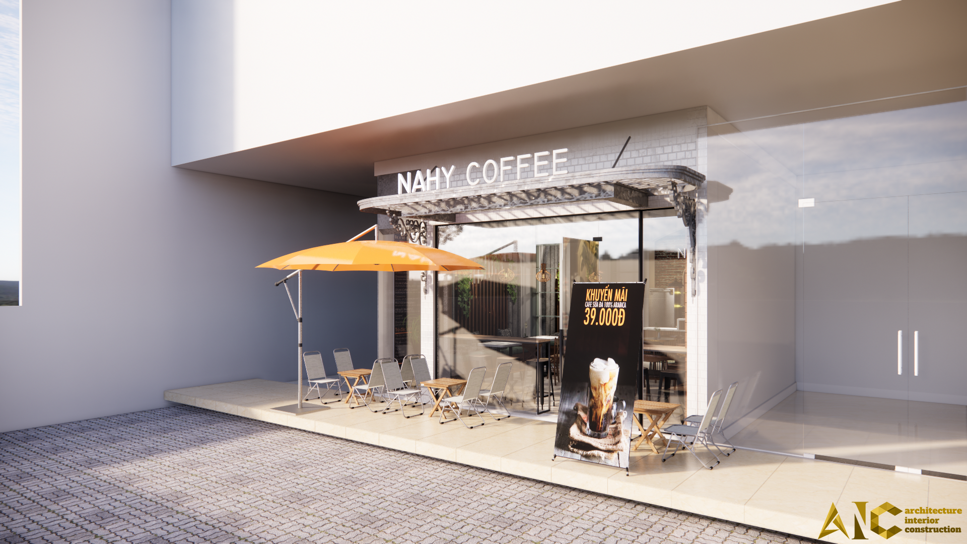 Cafe Area - NAHY - AIC JSC - 13