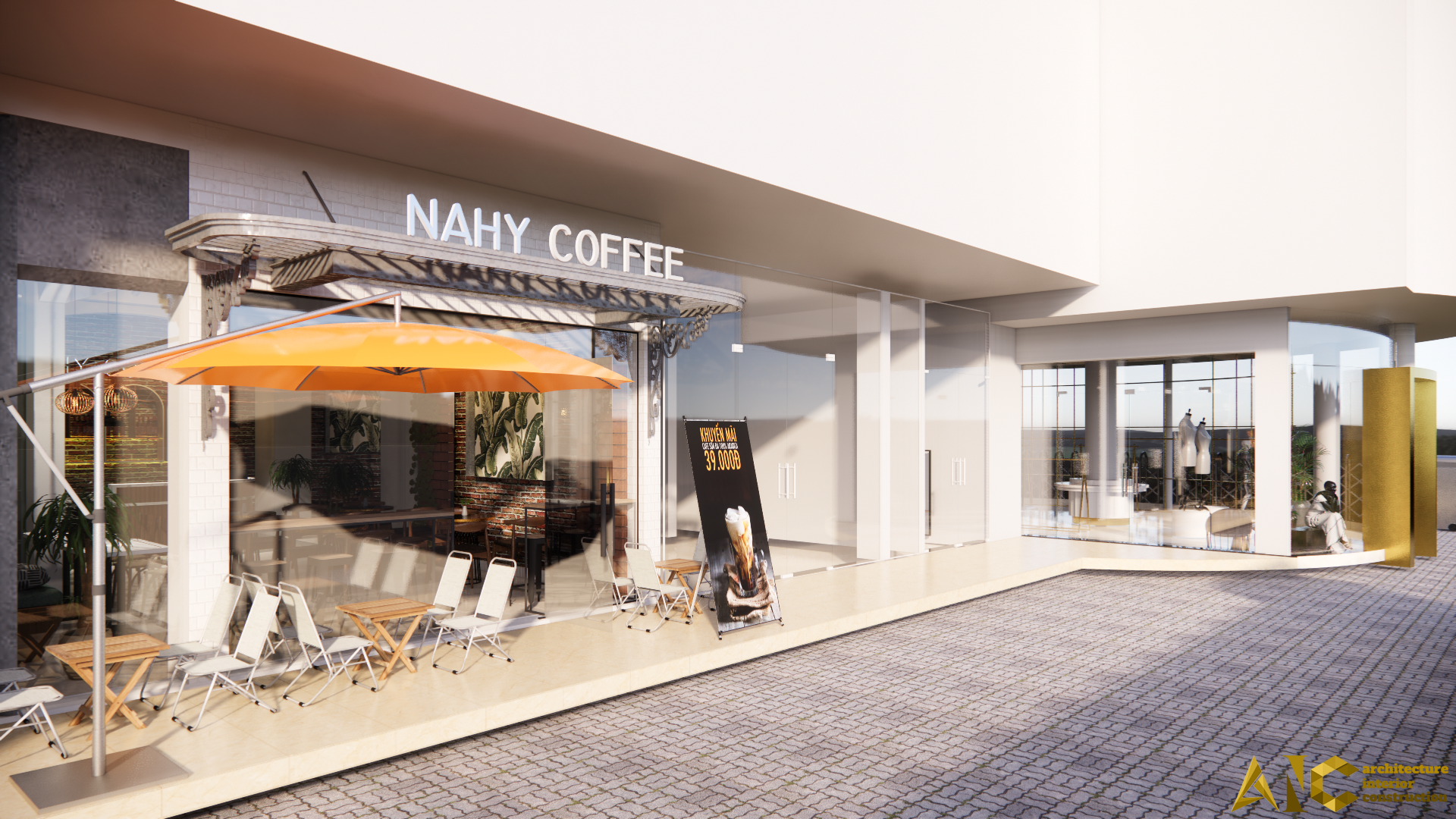 Cafe Area - NAHY - AIC JSC - 15