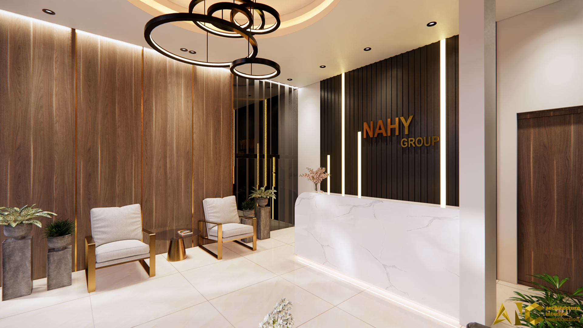 Reception Area - NAHY - AIC JSC - 01