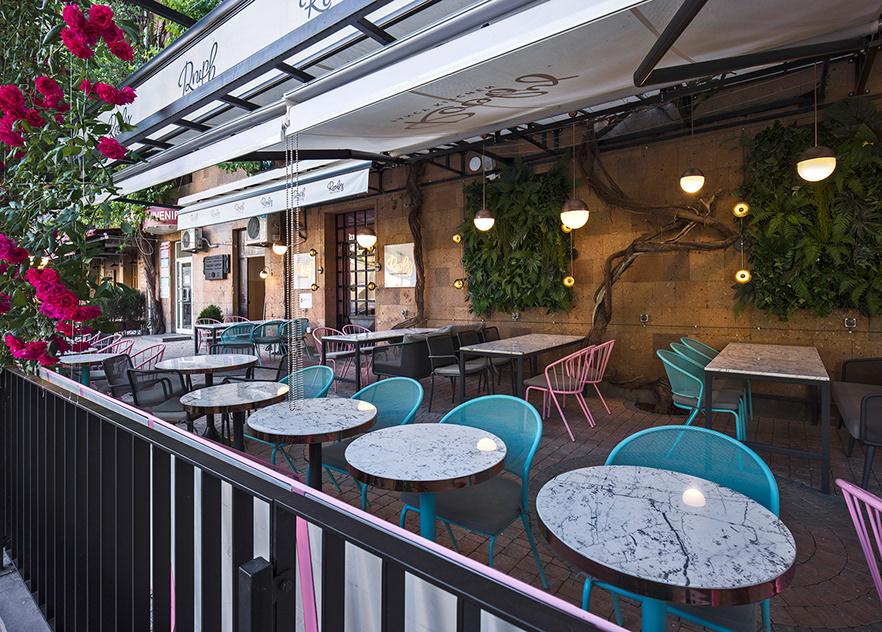 mẫu bàn ghế quán cafe - AIC JSC 1