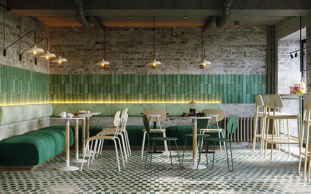 mẫu bàn ghế quán cafe - AIC JSC 2