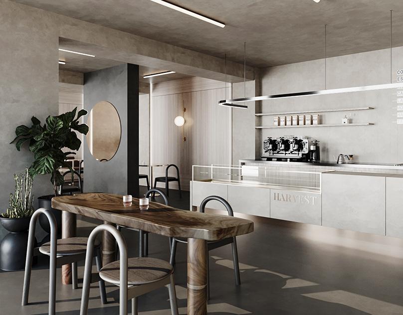 mẫu bàn ghế quán cafe - AIC JSC 3
