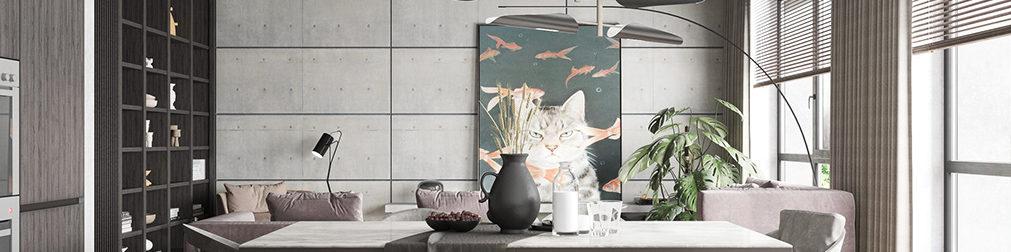 Cách chọn màu sắc trong thiết kế nội thất giúp phân chia không gian - AIC JSC 3